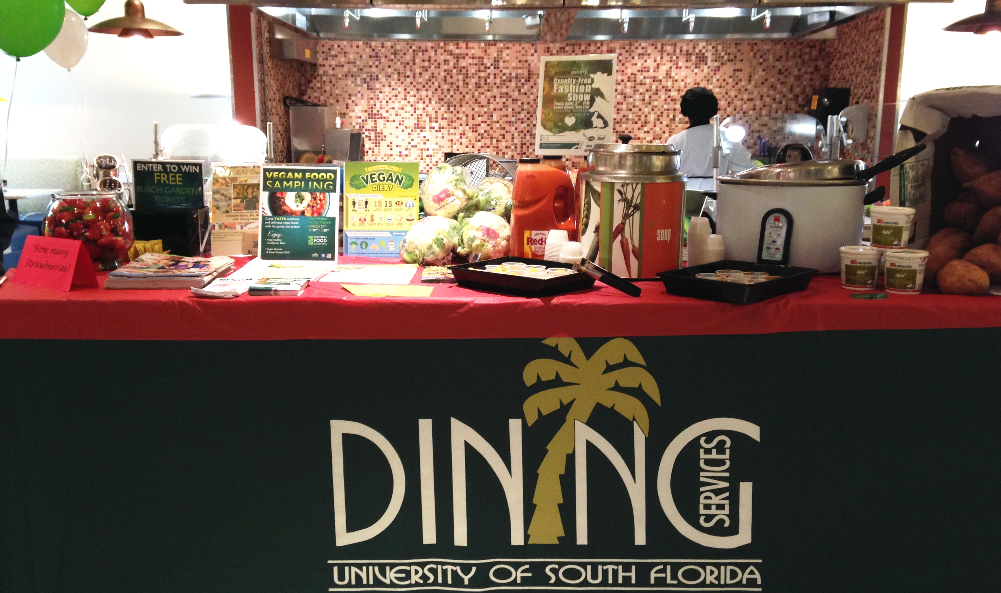 Food Services Building university of south florida